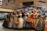 El Món Faller promociona en El Corte Inglés las naranjas valencianas con el sello IGP
