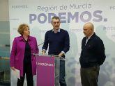 Urralburu: 'Cieza Puede y Podemos ofrece en Cieza una alternativa segura, solvente y transformadora para sus vecinos y vecinas'