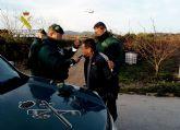 La Guardia Civil localiza y detiene en Pliego a una persona sobre la que pesaba una orden europea de detención