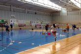 Más de 50 participantes en el 'i torneo navideño de bádminton' de las torres de cotillas