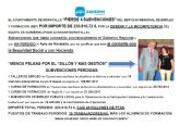El PP denuncia que el ayuntamiento de Moratalla 'pierde 4 subvenciones' del SEF por importe de 233.816,72 €