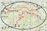 Se restringirá el tránsito temporal a personas y vehículos en las zonas de Carmona-Cuevas Luenga y Solana de Pedro López, en Sierra Espuña