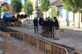 Las obras en los colectores de San Pedro del Pinatar mejorarán la red de saneamiento del centro urbano