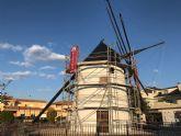 En los próximos días finalizan las obras de restauración del Molino de 'El Tío Facorro'