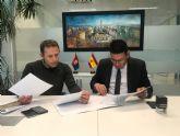 El Ayuntamiento de Torre Pacheco y la Comunidad de Regantes del Campo de Cartagena firman un convenio de colaboración