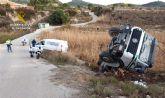 La Guardia Civil investiga al conductor de una hormigonera por quintuplicara la tasa de alcoholemia
