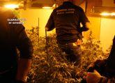 La Guardia Civil desmantela una vivienda dedicada al tráfico de droga y detiene a su propietaria por delito de robo con violencia e intimidación