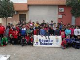 La Fase Local de Petanca de Deporte Escolar contó con la participación de 71 escolares de diferentes centros de enseñanza