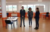 El director del Info visita la incubadora de proyectos de Beniel