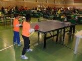 Los centros de enseñanza Santa Eulalia y Juan de la Cierva se proclamaron campeones regionales, en la Final de Tenis de Mesa de Deporte Escolar