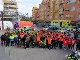 La Comunidad expone material para la atención de emergencias y realiza exhibiciones en Alcantarilla por el Día Europeo del 1-1-2