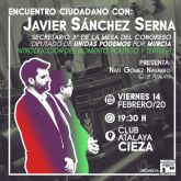 Encuentro ciudadano con Javier Sánchez Serna