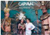 Mazarr�n presenta las novedades de su Carnaval durante una divertida cena de convivencia de peñas
