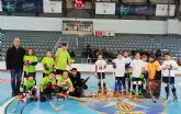 Los benjamines del Club Hockey Patines Totana se desplazaron a Alcoy