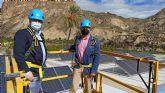 Inaugurada una instalación solar en la cubierta del pabellón de Ojós