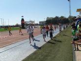 28 escolares de Totana participaron en la Final Regional de Campo a través de Deporte Escolar benjamín y alevín