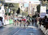 El sub23 barcelonés Kiko Galván del equipo navarro del Lizarte consigue vencer en Alcantarilla en el Trofeo Guerrita