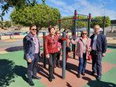 El Ayuntamiento de Molina de Segura finaliza las actuaciones de dotación de áreas juveniles en varios puntos del casco urbano, con una inversión próxima a los 60.000 euros