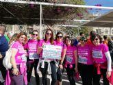Una representación de D´Genes participó en la V Carrera de la Mujer de Murcia
