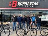 Bicicletas Borrascas entrega a Valverde Team-Terra Fecundis las Cannondale SuperSix EVO