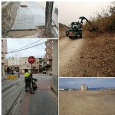 La Concejalía de Servicios lleva a cabo actuaciones de mantenimiento y reparación en distintas zonas de Cieza
