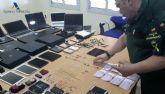La Guardia Civil recupera en el Puerto de Melilla, gran cantidad de efectos electrónicos y joyas robados en la Península