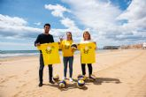 Vuelve la liga de v�ley playa a Bah�a