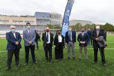 La Universidad de Murcia inaugura el campo de fútbol del Campus de Ciencias del Deporte de San Javier