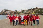 54 jóvenes aspiran a una plaza de socorrista en las playas de Mazarrón
