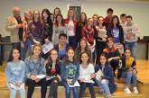 Recepción oficial a grupo estudiantes franceses de intercambio con alumnos del IES Mar Menor