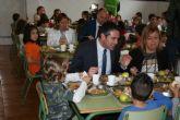 Educación presenta en Alcantarilla, en el Colegio 'Jacinto Benavente', el Plan de Calidad de Comedores Escolares