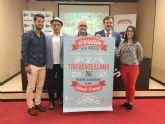 Mil deportistas se dan cita en Mazarr�n para participar en el triatl�n de Fuente �lamo