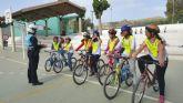 Los niños de Puerto Lumbreras aprenden normas de circulación para prevenir accidentes