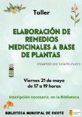 Taller de elaboración de remedios naturales