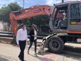 La Comunidad destina 675.000 euros al proyecto de conducción general del Valle de Ricote a su paso por Archena