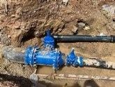 Se repone el abastecimiento de agua en el casco urbano de Totana