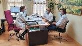 El alcalde y el concejal de Sanidad se reúnen con el gerente de Área IX de Salud
