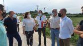 El Ayuntamiento de Molina de Segura inicia los trabajos de reparación de tres caminos danados por la DANA de 2019 en la pedanía de La Ribera