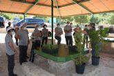 La Concejalía de Medio Ambiente de Molina de Segura colabora con la empresa Auto Classe de Grupo Huertas en una actividad de reforestación en el Parque Ecológico Vicente Blanes