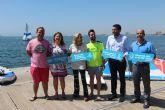 Los jóvenes podrán disfrutar de actividades náuticas en el Mar Menor por un euro este verano gracias a los 'Días azules'