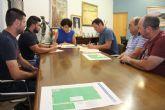 El campo de fútbol de Puerto Lumbreras recibirá una inversión de más de 200.000 euros para mejoras