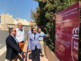 La Comunidad financia con más de 72.000 euros la renovación de dos de las principales calles de Villanueva del Río Segura