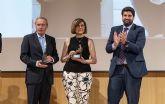 L�pez Miras clausura el acto de entrega de  los premios del Foro Nueva Murcia