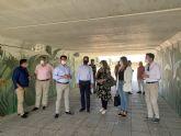 El  nuevo acceso peatonal entre Pozo Aledo y San Javier ya está operativo