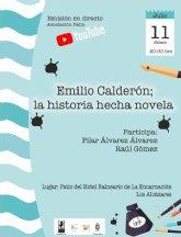 El escritor Emilio Calderón visita el sábado Los Alcázares para hablar de su trayectoria literaria y presentar sus últimos trabajos