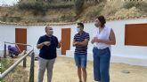 Puerto Lumbreras mejora sus infraestructuras turísticas en el complejo Medina Nogalte