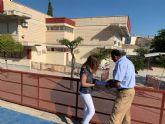 Educación mejora las instalaciones del colegio Ángel Zapata de Torreagüera