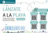 Durante el mes de agosto continúa el servicio de autobús gratuito a las playas de La Llana y Torre Derribada