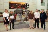 Antonio Rico y Eusebio Garc�a muestran la historia gr�fica del cine en el municipio