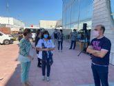 El Programa Mixto de Empleo y Formación 'San José 1' cuenta entre sus actuaciones con la construcción de los vestuarios del campo de fútbol 7 de San José-Los Ángeles